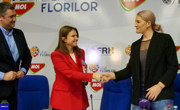 MOL România și Federația Română de Handbal au încheiat un parteneriat pentru susținerea performanței în Liga Națională de Handbal Feminin