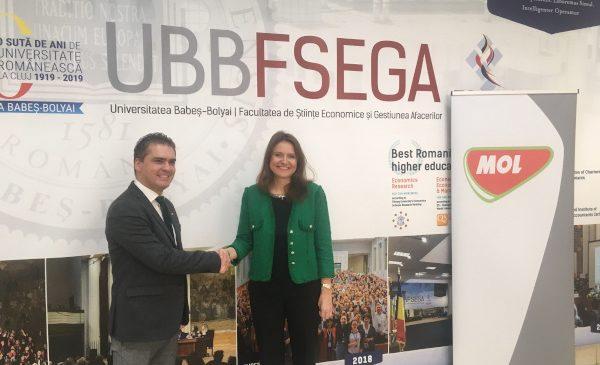 MOL România și Universitatea Babeș-Bolyai au încheiat un parteneriat pentru susținerea unui învățământ universitar modern