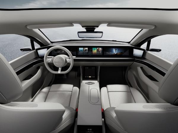 Sony vehicul-prototip interior