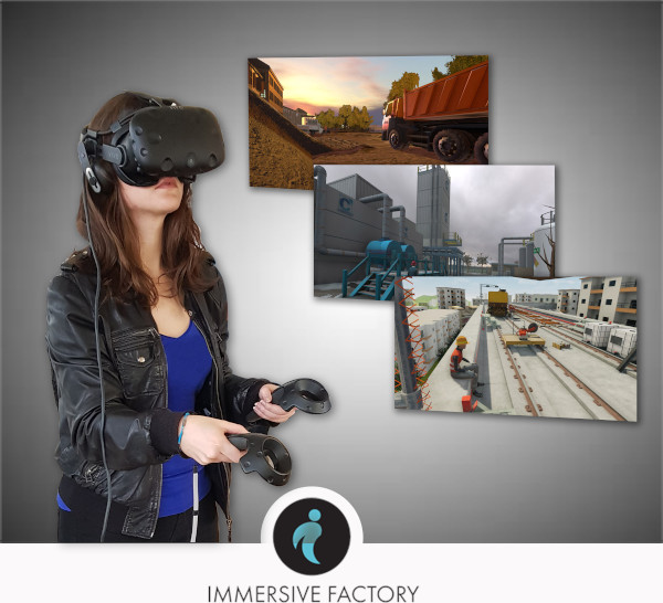 Vive X Company, Immersive Factory 2