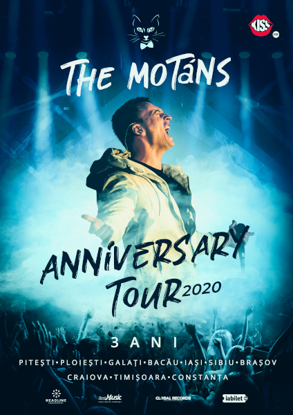 afis The Motans Anniversary Tour