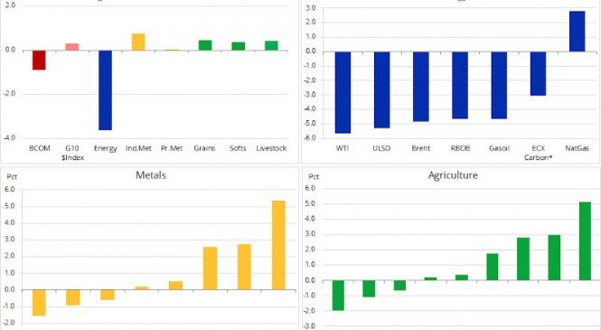 Analiză mărfuri: un început volatil al anului 2020
