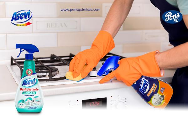 dezinfectant si degresant Asevi