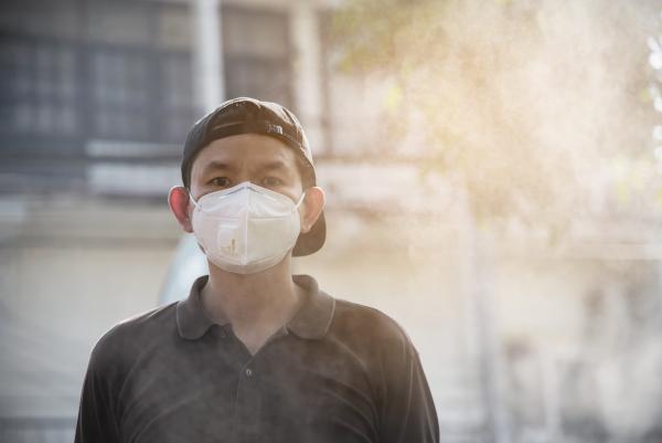 masca poluare
