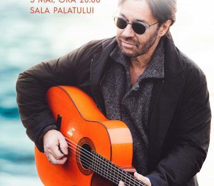 Legendarul chitarist Al Di Meola îți dă întâlnire la Sala Palatului pe 5 mai