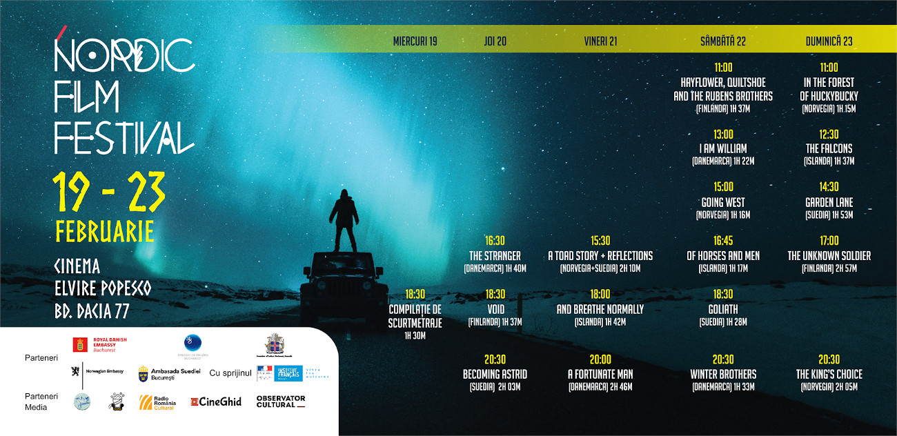 program Nordic Film Festival 2020