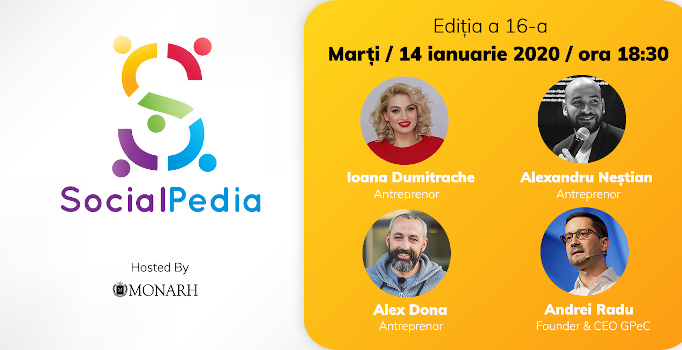 SocialPedia 16: Despre antreprenoriat și freelancing în online