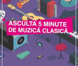 """Aproape 220.000 elevi au ascultat muzică clasică la școală grație proiectului Radio România Muzical """"Ascultă  5 minute de muzică clasică"""""""