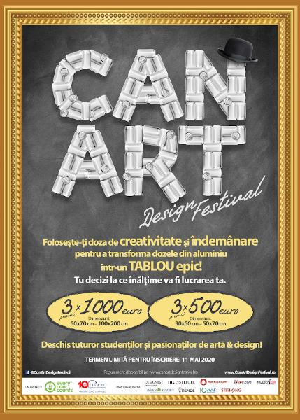 Can Art Design Festival - vizual 2020