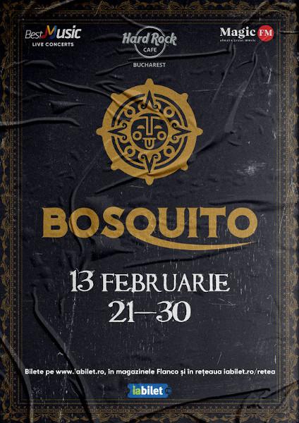 Concert Bosquito - Show Aniversar 20 de ani la Hard Rock Cafe