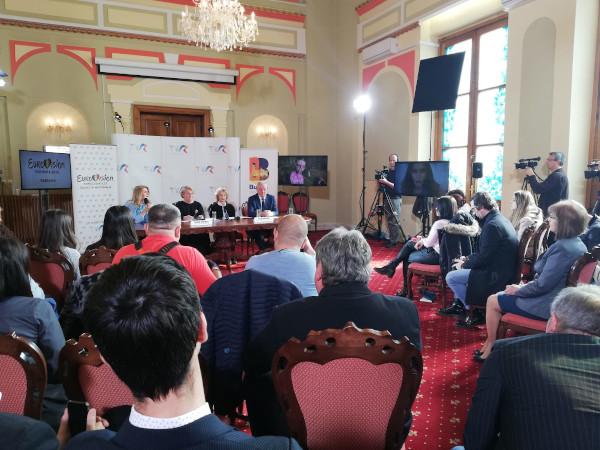 Conferinta de presa Eurovision Buzau