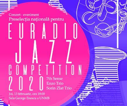 Concert-eveniment: preselecție națională pentru Euroradio Jazz Competition 2020