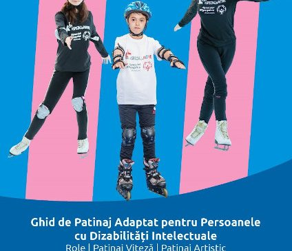 66 de sportivi cu dizabilități intelectuale participă la primul Campionat Național de Patinaj Adaptat (Role și Gheață) Special Olympics România