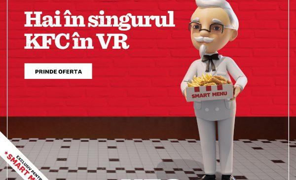 S-a deschis Smarket, singurul restaurant KFC în VR, exclusiv pentru Smart Menu