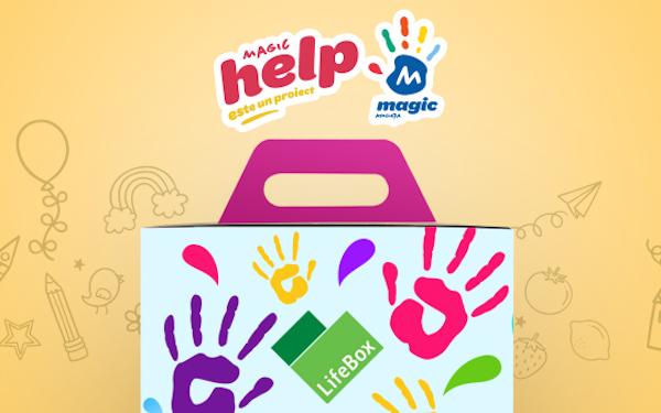 LifeBox va dona 8.000 de meniuri in spitale prin MagicHELP