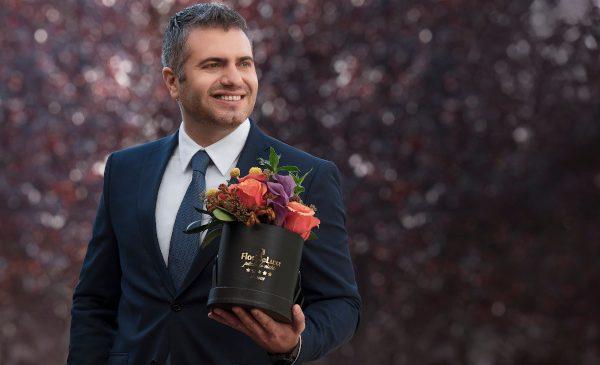 """Dosinescu, FlorideLux.ro: """"Vânzările online de flori vor crește cu 15% în acest an de Valentine's Day"""""""