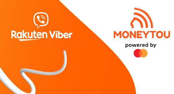 Mastercard si Rakuten Viber extind Moneytou