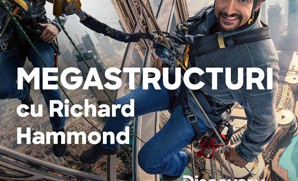 """Discovery Channel, titlu nou în grila de programe: """"Megastructuri cu Richard Hammond"""", fosta vedetă Top Gear"""
