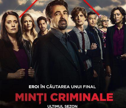 Minți criminale (Criminal Minds), ultimul sezon, din 2 martie, la AXN