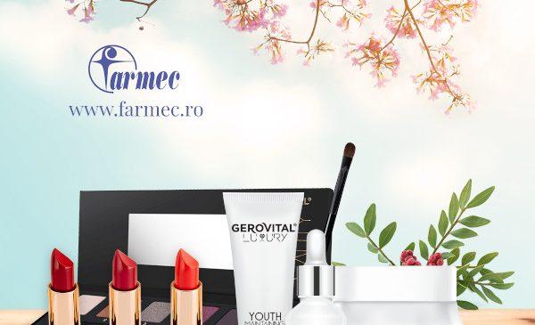 Farmec celebrează sărbătorile primăverii cu oferte speciale