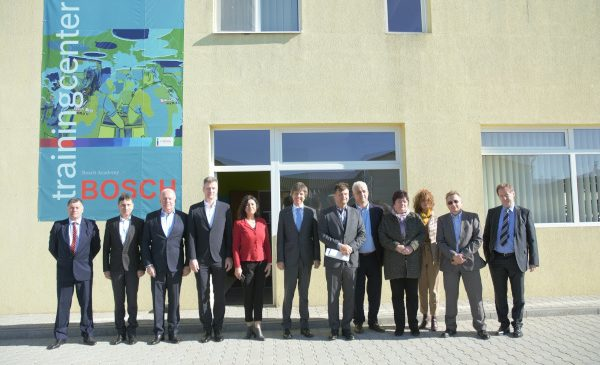 Bosch, partener pentru învăţământul dual în judeţul Alba