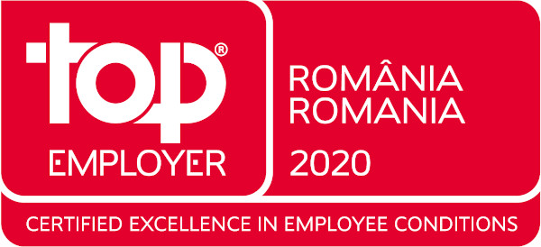 Top Employer Romania 2020 logo