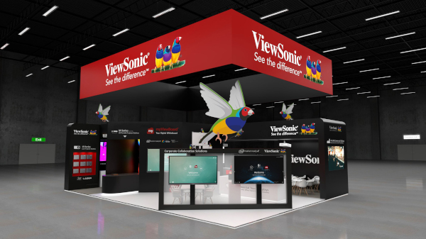 ViewSonic 2020 0204-ISE Booth