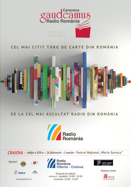 afis Gaudeamus Craiova 2020