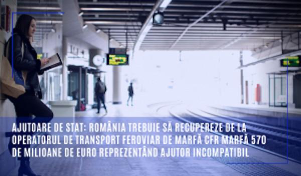 ajutoare de stat CFR Marfa