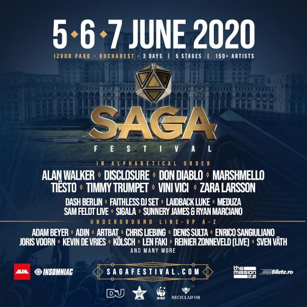 poster SAGA Festival