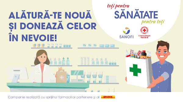 poster campanie Sanofi