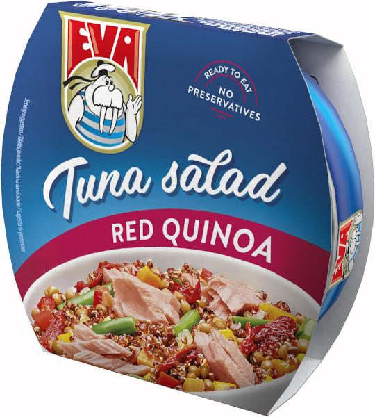 EVA salata de Ton cu Quinoa rosie