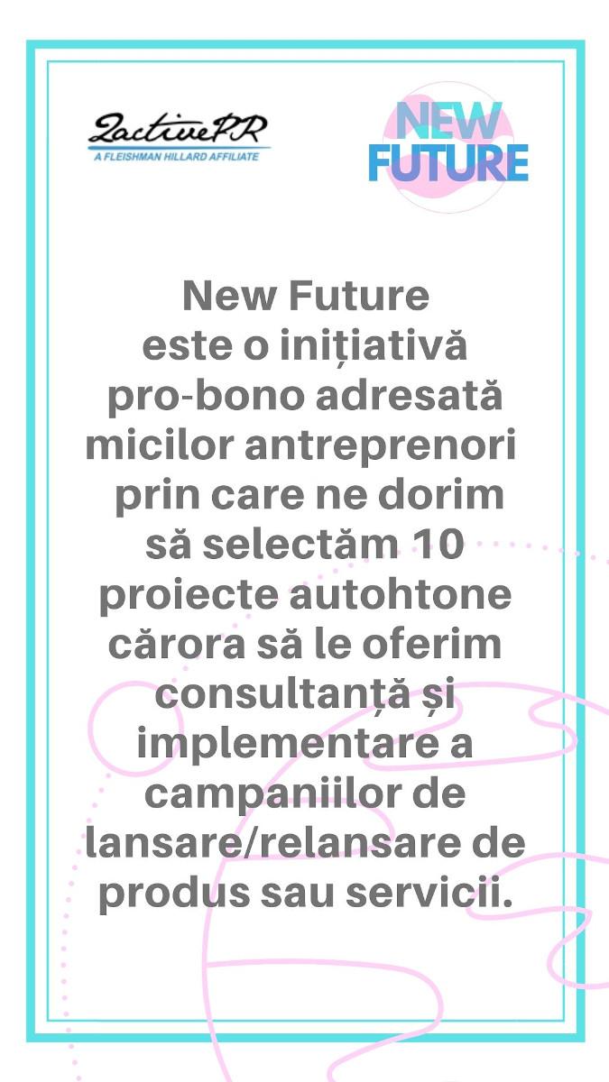 2activePR lansează New Future