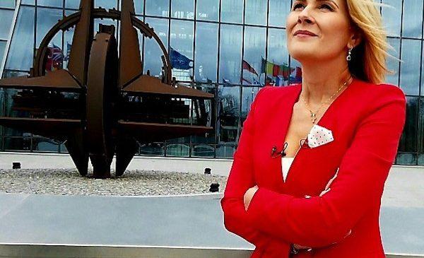 În exclusivitate pentru Observator, Alessandra Stoicescu a filmat noul cartier general al NATO din Bruxelles