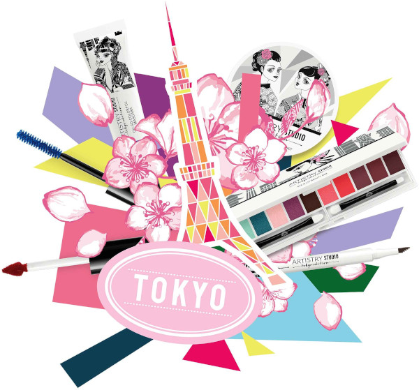 Amway Artistry Studio lanseaza Tokyo Edition