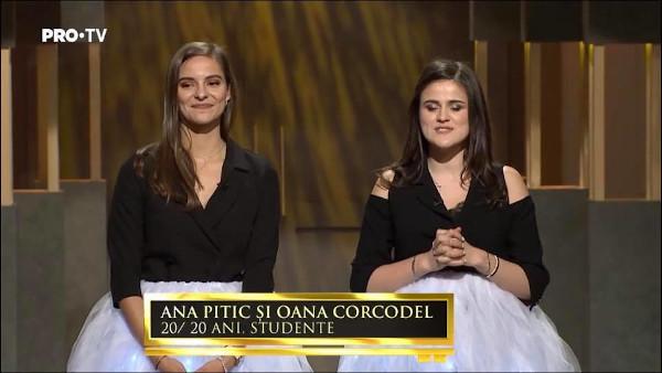 Ana Pitic și Oana Corcodel