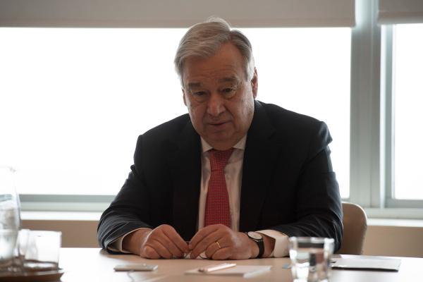 António Guterres - © UN Photo - Evan Schneider