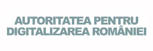 Autoritatea pentru Digitalizarea Romaniei logo