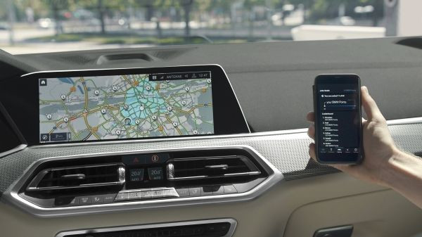 BMW eDrive Zones test vehicle collects BMW Points while driving in a low emissions zone