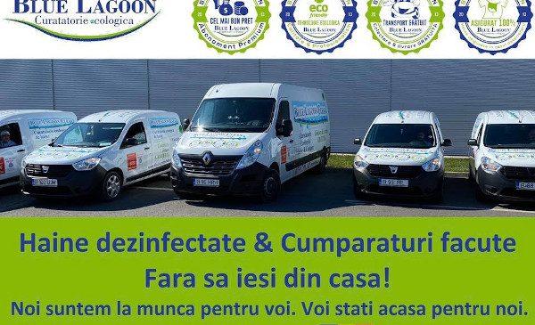 Blue Lagoon Clean lansează un serviciu adiacent prin care să își susțină business-ul și angajații pe perioada epidemiei de Coronavirus