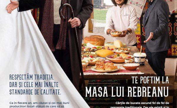 Lidl aduce în prezent mesele din opere literare celebre cu ajutorul produselor Cămara Noastră