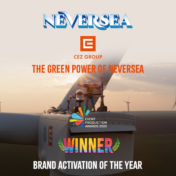 CEZ - The Green Power of NEVERSEA - Event Production Awards 2020