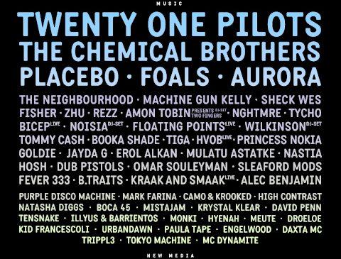 Pentru că aveam nevoie și de vești bune, Electric Castle anunță: The Chemical Brothers, Placebo, Aurora și Machine Gun Kelly printre zeci de noi artiști confirmați
