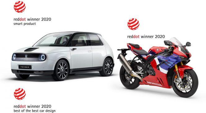 Honda Wins Three Red Dot Design Awards, Including 'BEST Of The Best' For Honda E