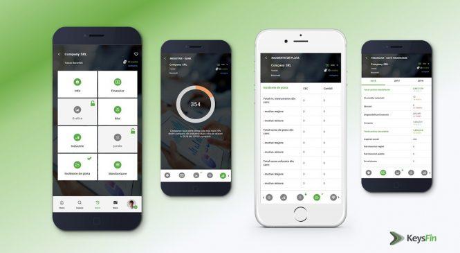 KeysFin anunță lansarea aplicației mobile KeysFinder, cea mai complexă sursă de informații gratuite despre business-urile românești