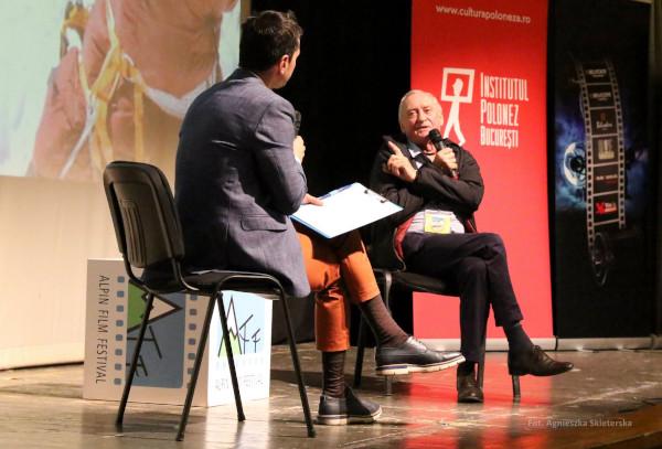 Krzysztof Wielicki in dialog cu Alex Găvan
