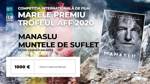 Manaslu - muntele de suflet - Marele Trofeu AFF5