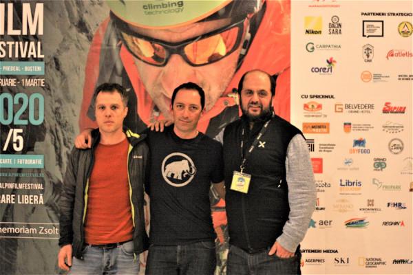 Mircea Gherase, Horia Colibășanu și Dan Burlac, președintele AFF