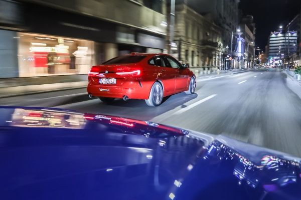 #Nightdriving in Bucharest with the new BMW 1 Series and BMW 2 Series Gran Coupe, pictures by Dragoş Savu