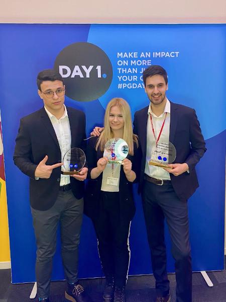 P&G _CEO Challenge_winning team